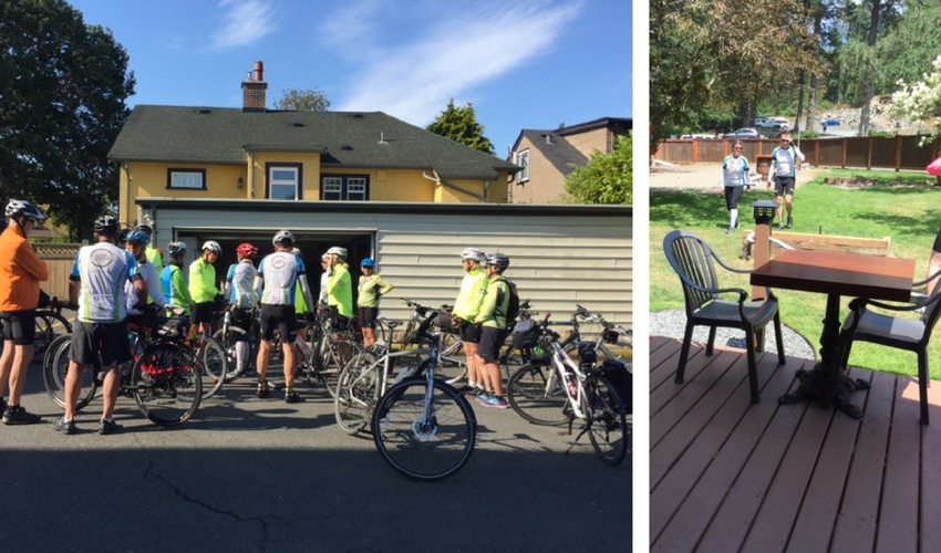 Silver Wheels riders for a 3-day trip to Victoria