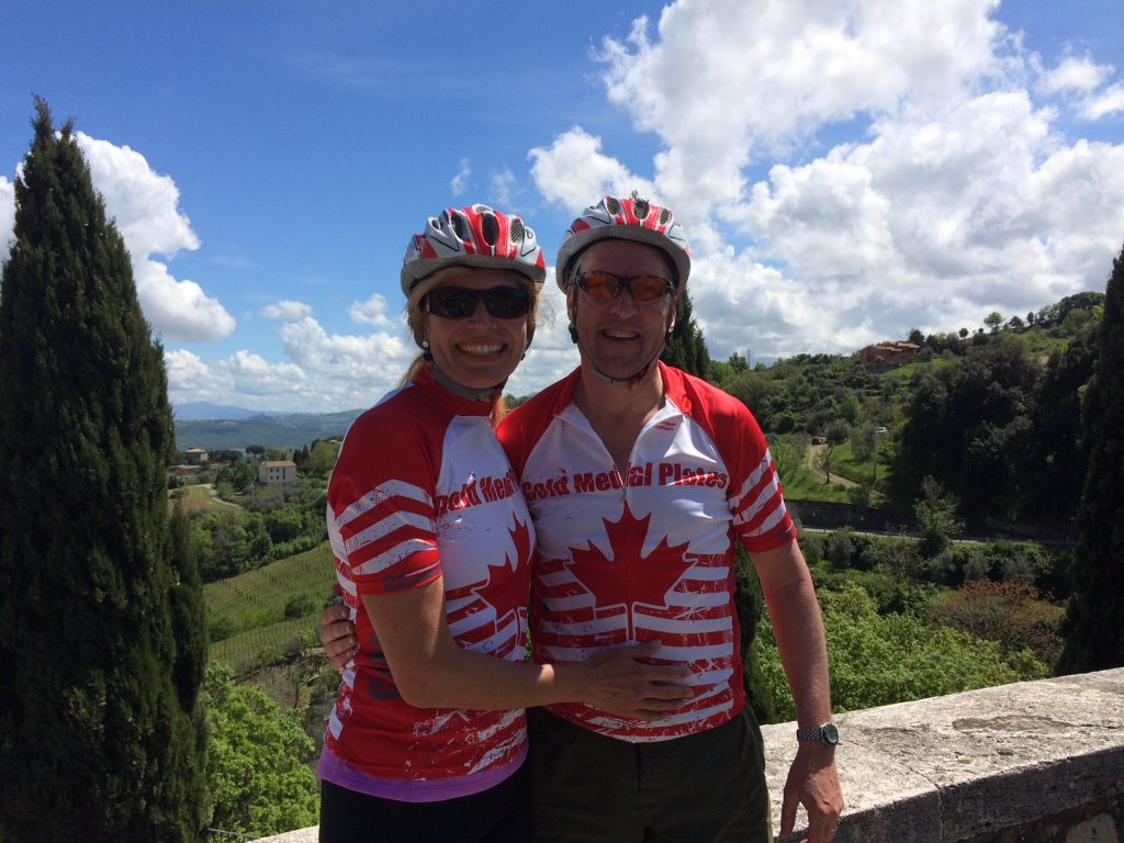Sandi & Scott Piercy in Tuscany