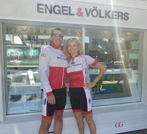 Chris Margetts and Sandi Piercy of Engel & Volkers